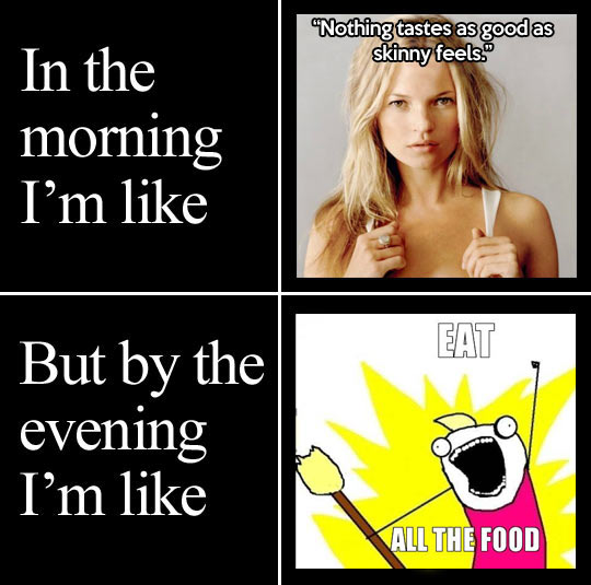 funny-picture-girl-morning-evening-food