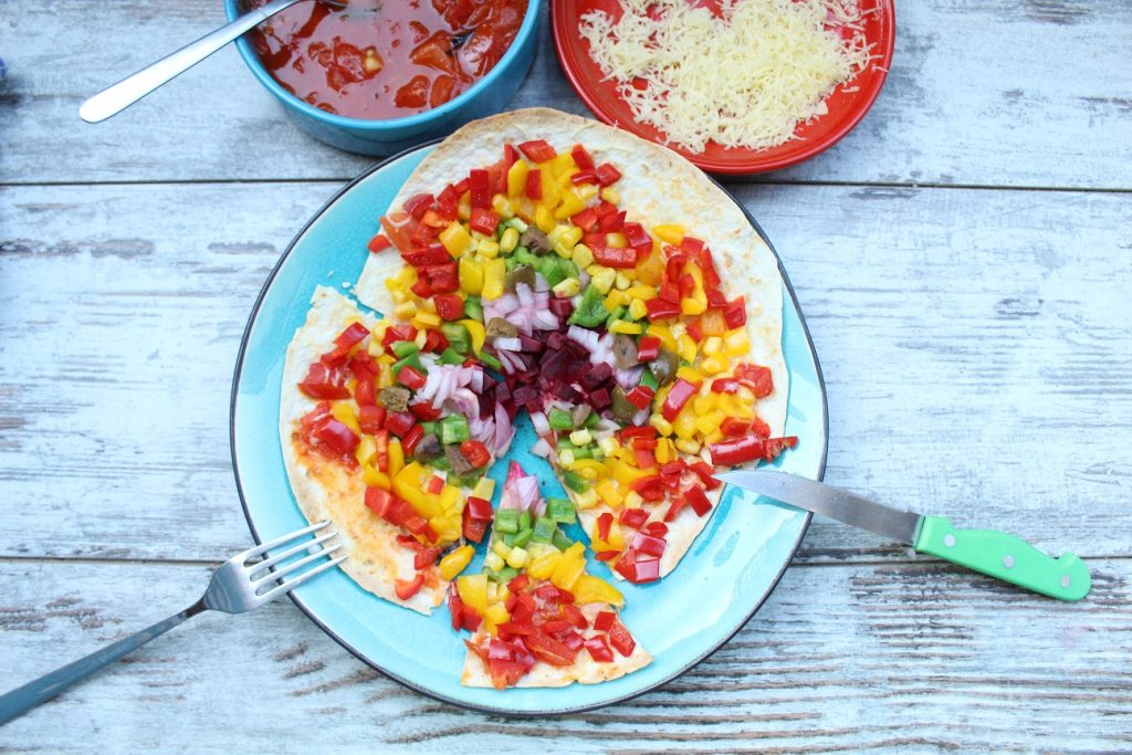 rainbow pizza fitt.rs