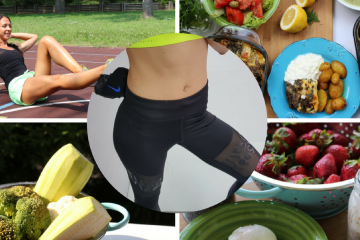 What I eat in a day I Trening za noge