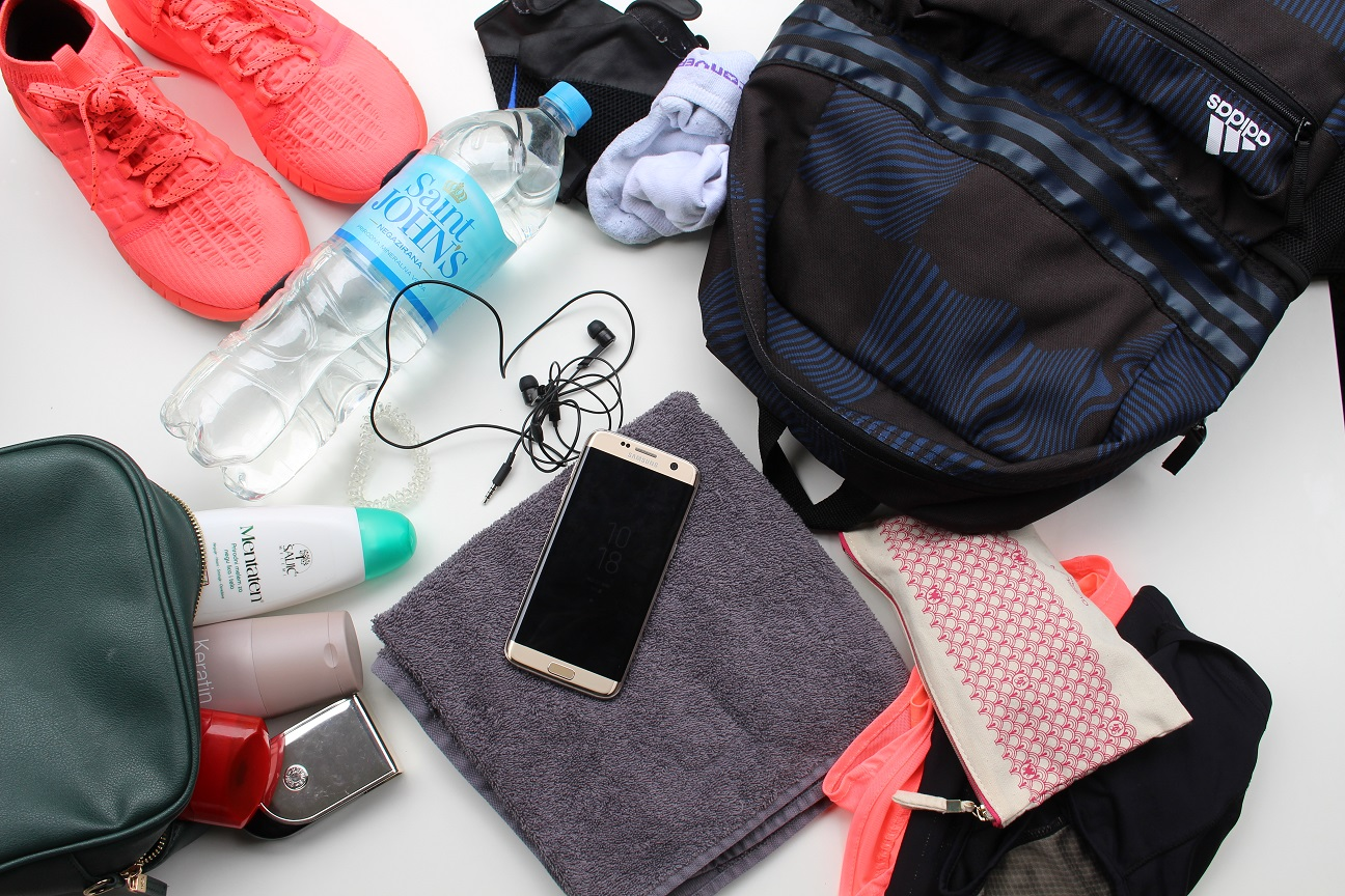 Whats in my gym bag